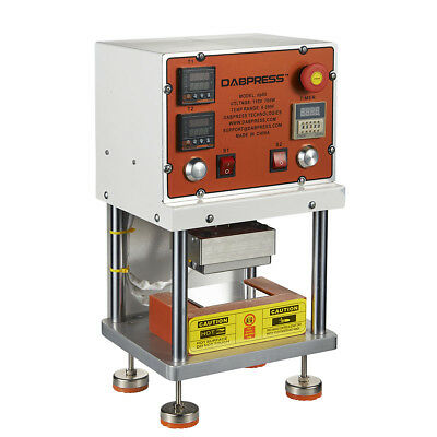Dabpress Dp80 Pneumatic Rosin Press - Desktop Automatic Rosin Heat Press Machine