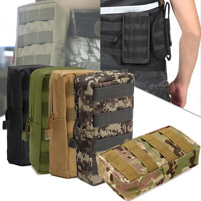 MOLLE Pouch Multi-Purpose Compact Tactical Waist Bags Small Utility Pouch Pocket