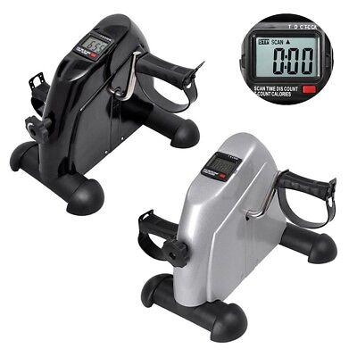 Digital Exerciser Bike Mini Pedal Stepper Exercise Machine Cycle Fitness LCD New