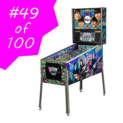 #49 of 100 Stern Diamond Limited Edition Beatles Beatlemania Pinball Machine