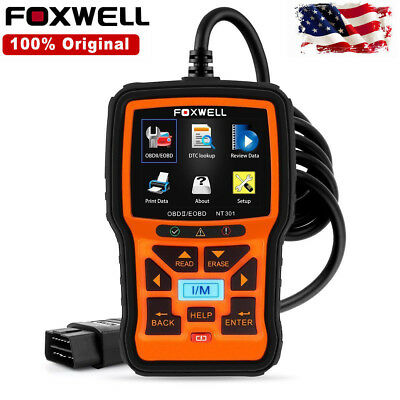 Foxwell NT301 Auto OBD OBD2 Engine Car Code Reader Scanner Diagnostic Tool Diag