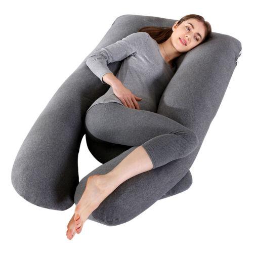 Hefty Pregnancy Pillow ™ - U Shaped Body Pillow - Maternity Pillow - Full Body