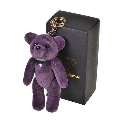 Bear Gentleman 130dB Personal Alarm Safety Security Self-Defense Rape Rob Purple