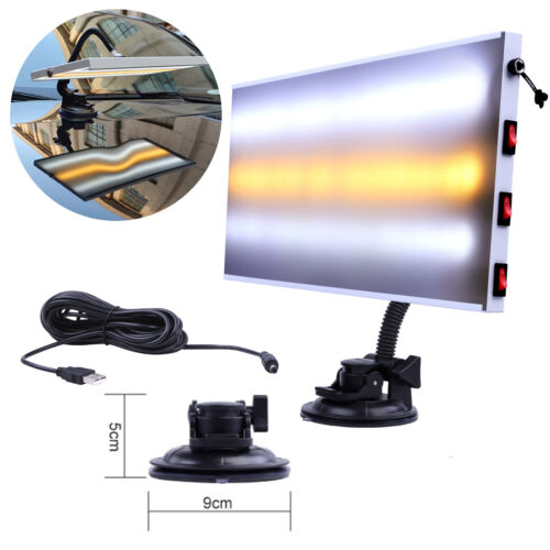 Paintless Dent Repair Led Light 3 Strips Pdr Tools Auto