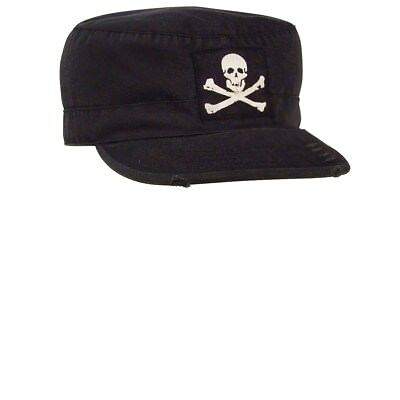 Jolly Roger Fatigue Cap (Rothco Vintage Military Fatigue Cap With Jolly)