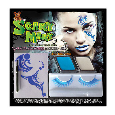 Scary Mary Warrior Goddess Makeup Kit](Goddess Makeup Halloween)
