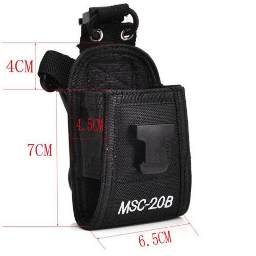 MSC-20B Multi-function Nylon Case Bag for Kenwood Two-way Radio