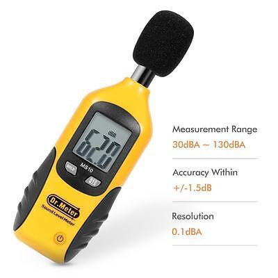 Dr.meter Proi Digital Sound Noise Level Meter Decibel Detector Testers 30130db