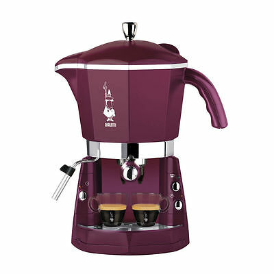 MACCHINA MACCHINE CAFFE' BIALETTI MOKONA TRIO SILVER CF40 CAFFETTIERE MOKA VIOL
