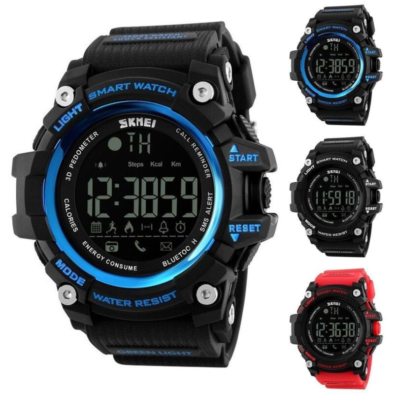 2018 Waterproof Sport Bluetooth Smart Watch For iPhone Samsu