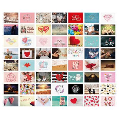 Postkarten Hochzeit 52 Stück Set Spiel Hochzeitsspiel Hochzeitsgeschenk - Liebe (Hochzeit Karten Spielen)