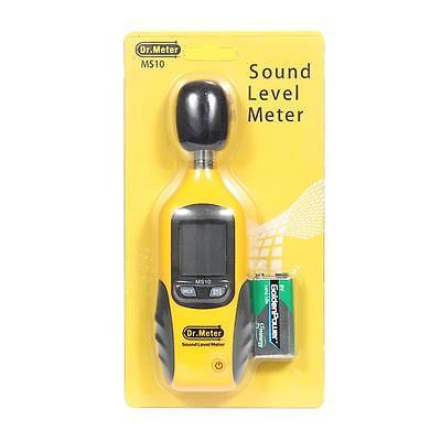 Digital Lcd Noise Decibel Meter Sound Pressure Level Meter Measurement 30130db