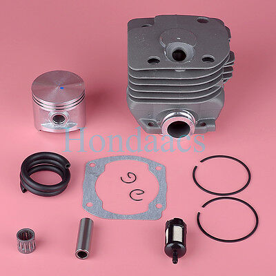 50MM Cylinder Piston Head Assembly For Husqvarna 372XP 372 371 365 362 Chainsaw