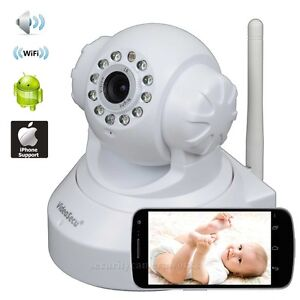 Wireless Wifi Security Camera Baby Monitor IP Smartphone Audio Night Vision bis