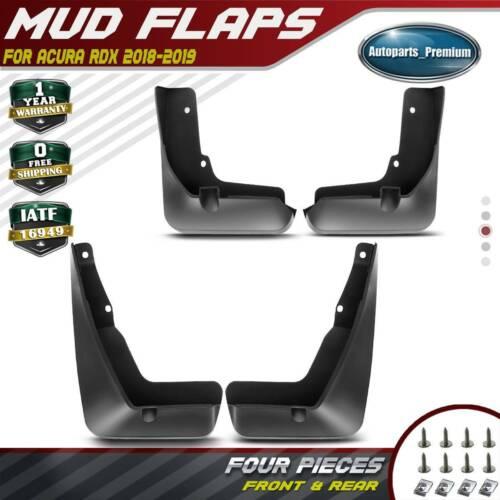 4PCS Rear & Front Mudguard Mud Flaps Splash Guard For