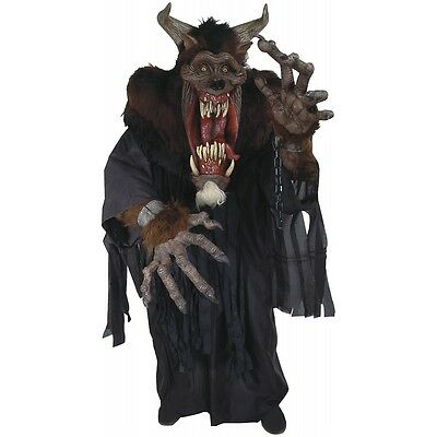 Creature Reacher Halloween Costumes (Scary Monster Costume Adult Demon Beast Creature Reacher Halloween Fancy)