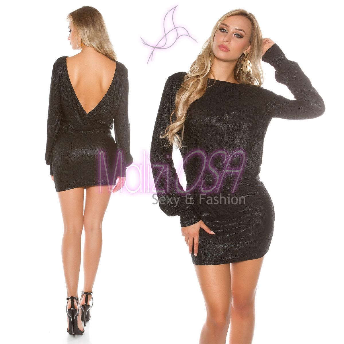 huge selection of 686b7 f27d0 Miniabito Donna MaliziOSA corto elegante Vestito sera ...