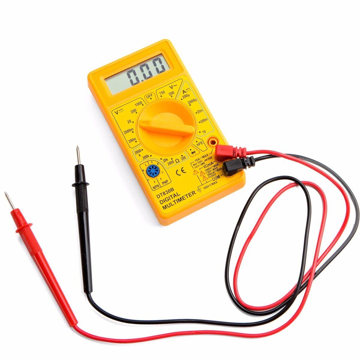 Hand Held Ohmmeter : Portable ammeter voltmeter handheld tester ohmmeter lcd