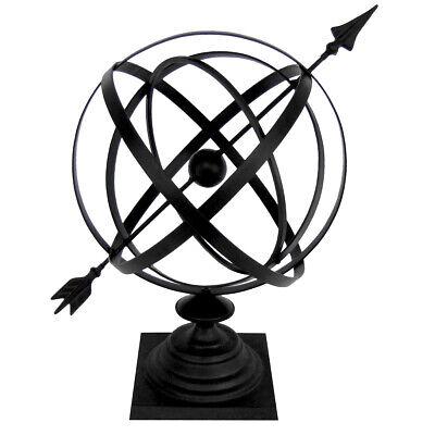 Sundial Cast Iron 24 Armillary Garden Arrow Sphere/Yard/Lawn FL House/Home Decor Cast Iron Armillary Sundial