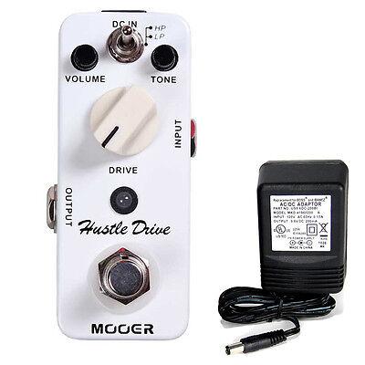 Mooer Audio Hustle Drive Distortion w/ 9v power supply free shipping!