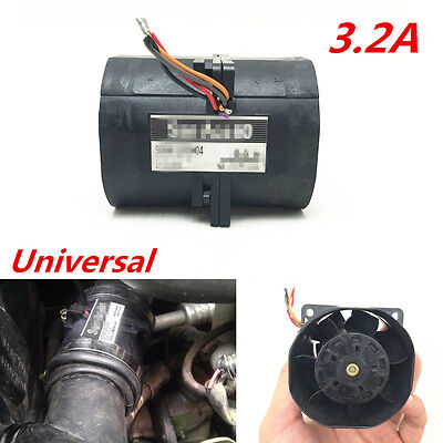 3.2A Car Auto Electric Turbine Turbo Double Fan Super Charger Boost Intake Fans