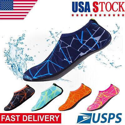 Adult Kid Water Shoes Barefoot Skin Socks Quick-Dry Aqua Beach Swim Water (Swim Skins Sale)