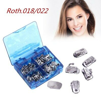 Azdent Orthodontic Buccal Tube 1St Molar Roth 018 022 Non Convertible Bonding