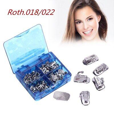 Azdent Orthodontic Buccal Tube 1st Molar Roth.018022 Non-con Bonding 20setsbox