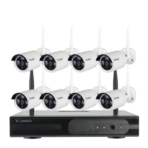 Business Home Surveillance CCTV Outdoor Night Wireless Security Camera System UK | eBay