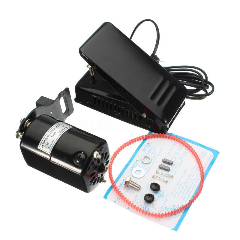 1.0 Amps Aluminum Home Sewing Machine Motor Foot Pedal Controller HA1 15 66 99K