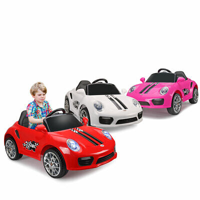 Kids Ride On Car Electric Car W/ MP3 LED Headlights Toy Gift Remote Control RC