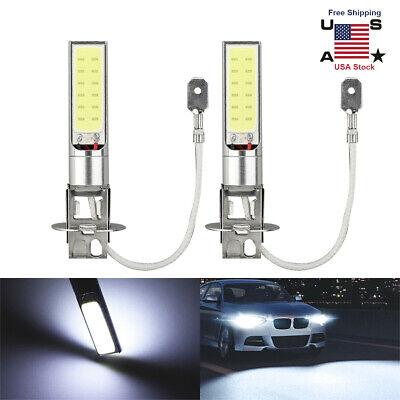 1Pair H3 100W Fog/Driving Lights Cree LED Light Bulbs 6000K Bright White 6000LM comprar usado  Enviando para Brazil