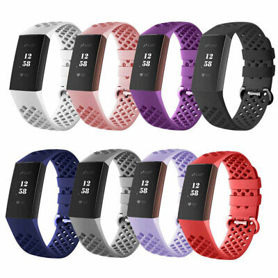 Breathable Sports Soft Watch Band Silicone Strap Bracelet Fo