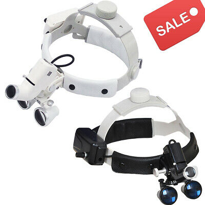 Surgical Dental Led Headlight Headband Binocular Loupes Magnifying Medical Loupe