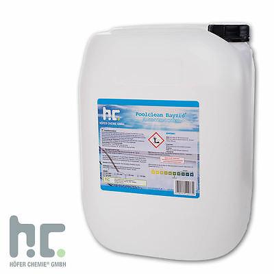 1 x 20 L Algenvernichter Algicid Antialgen Algizid