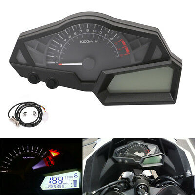 Speed Tach (15000rpm Motorcycle Digital Speedometer Tachometer Odometer Cluster)