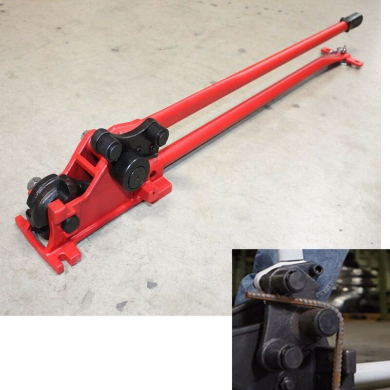 "Hand Manual 5/8"" Rebar Cutter Bender Construction Concrete Cutting & Bending Rod"