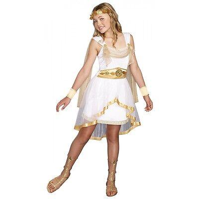 Greek Goddess Costume Tween Kids Halloween Fancy Dress