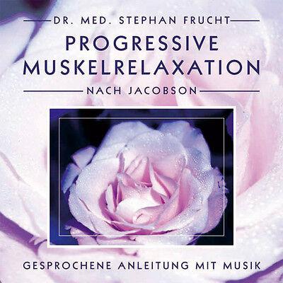 PROGRESSIVE MUSKELRELAXATION nach JACOBSON Dr. Stephan Frucht CD NEU Entspannung