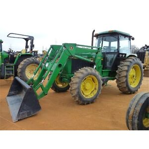 Wanted: John Deere 100 hp tractor with mfwd, cab and loader