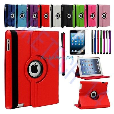 Apple Swivel Case (360 Degree  Rotating Leather  Swivel Stand Case Cover  For Apple iPad 2 / 3 /)