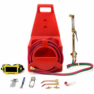 Pro Tote Carrier Oxygen Acetylene Welding Cutting Torch Kit Victor Portable