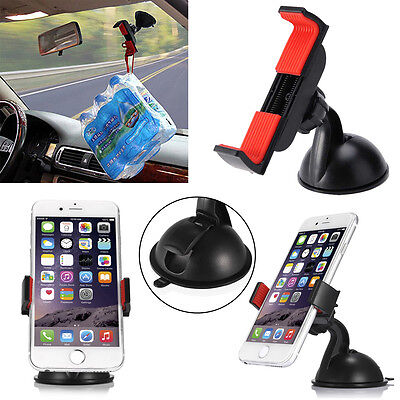 360° Car Holder Windshield Dashboard Suction Cup Mount Bracket for Cell Phone Auto Mounting Bracket Suction Cup