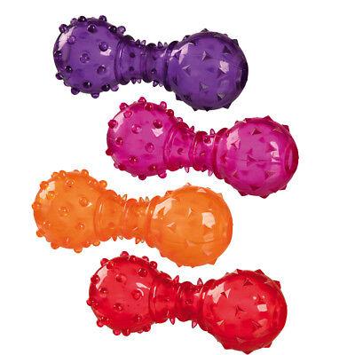 TRIXIE Snack-Hantel, TPR Kauspielzeug Spielzeug für Hunde 34930 ()