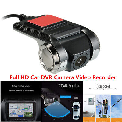 Car DVR Dash Camera Video Recorder ADAS G sensor FULL HD Lens Loop Recording  for sale  Shipping to Canada
