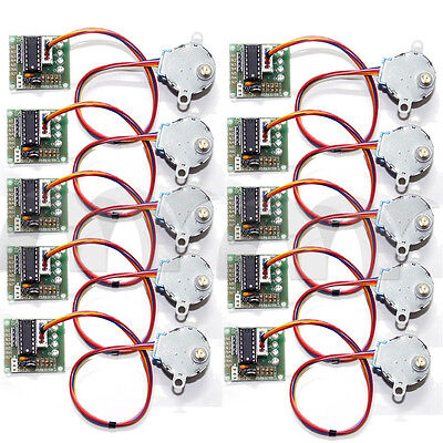 10 Pcs Dc 5v Stepper Step Motor Driver Test Module Board Uln2003 For Arduino