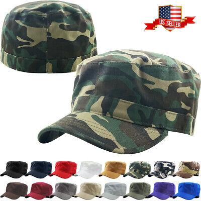 Army Cadet Military Patrol Castro Cap Hat Men Women Golf Driving Summer Baseball Ladies Golf Caps