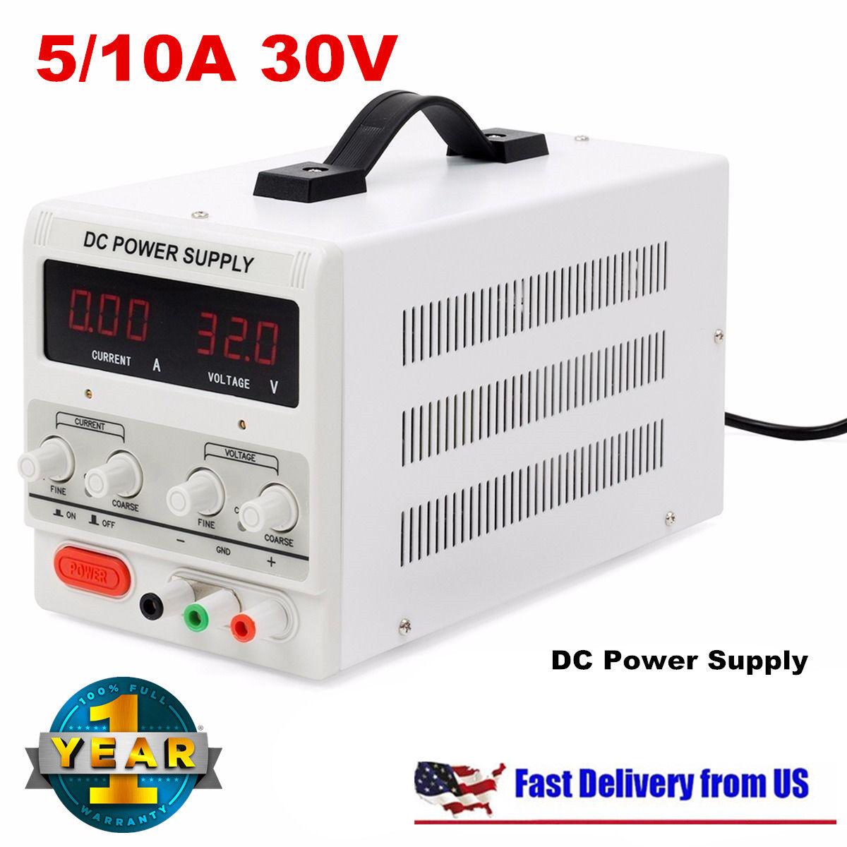 Digital Power Supply : Digital dc power supply v a precision variable