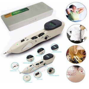 2019 Stimulator CE LCD Electronic Massage Pointer Acupuncture Meridian Pen USA