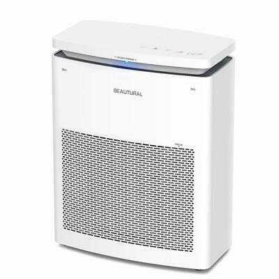 Beautural True HEPA Purifiers for Home with 2-in-1 Compound Filter Large Room